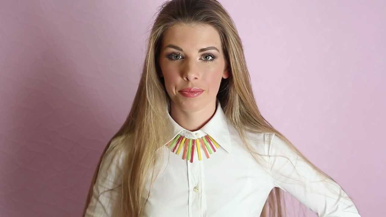 Стилист Анастасия Оделс Как носить белую рубашку! - YouTube