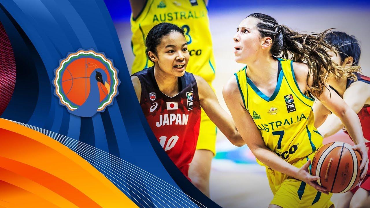 LIVE🔴 - Australia v Japan - Final - FIBA U16 Women's Asian Championship 2017