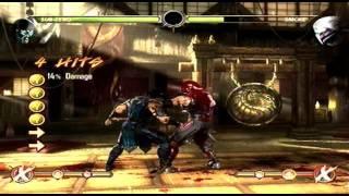 MK9: Sub Zero Combos Tutorial Mortal Kombat 9 (Basic) No Fatalities or XRay