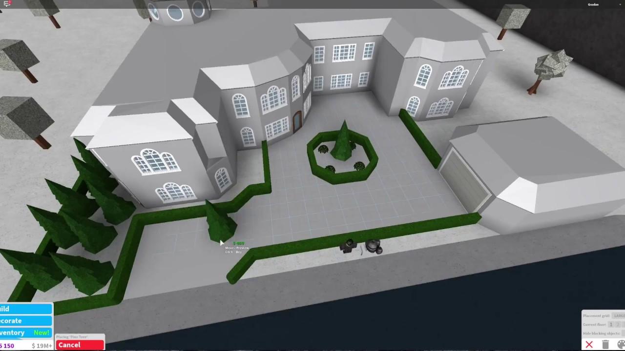 Roblox bloxburg house ideas mansion
