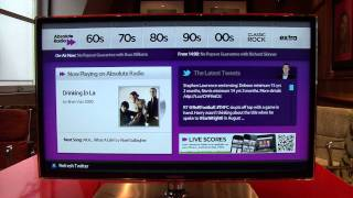 Absolute Radio Launches on the Samsung Smart TV Platform