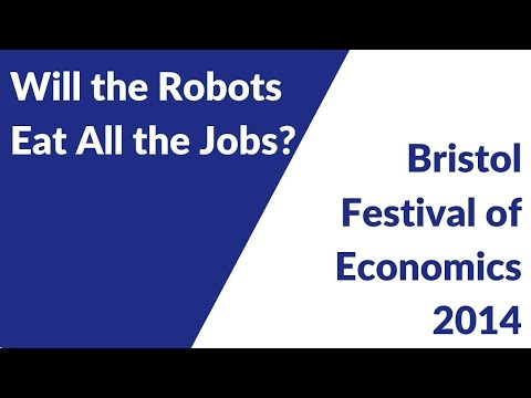 Festival of Economics 2014: Will the Robots Eat all the Jobs?