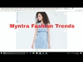 Latest Fashion trends-Summer 2017 Online Collection from Myntra