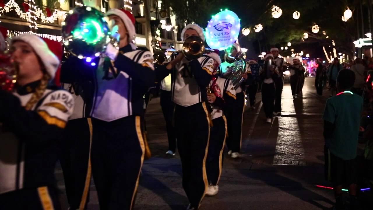 2021 Naples Christmas Parade Naples Christmas Parade Youtube
