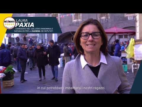 Presentazione della candidata Laura Paxia del Movimento5Stelle