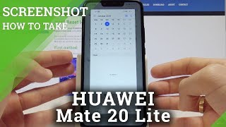 Screenshot HUAWEI Mate 20 Lite - How to Capture Screen in Mate 20