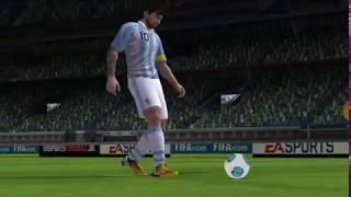 Argentina Vs Brazil Penalty Shootout 2018   PES18 Gameplay