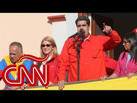 Maduro rompe relaciones con EE.UU. tras apoyo de Trump a Guaidó