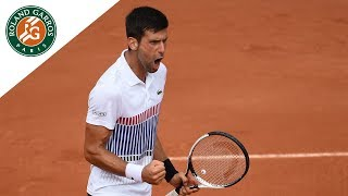 Novak Djokovic v Diego Schwartzman Highlights - Men's Round 3 2017 | Roland-Garros