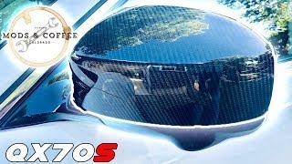 Carbon Fiber Mirrors for QX70 FX50 FX35 FX37