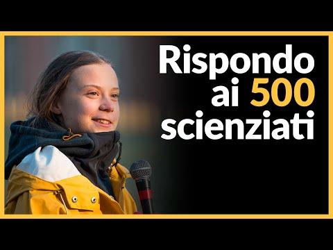 Risposta ai 500 scienziati contro Greta Thunberg