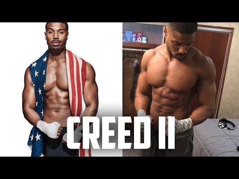 Michael B Jordan Creed 2 Transformation | Training, Workout And Diet