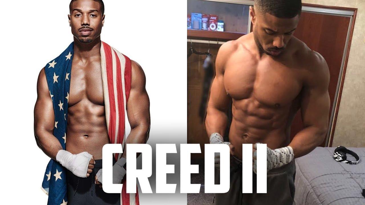 dobrze znany sprawdzić wyprzedaż Michael B Jordan Creed 2 transformation | Training, workout and diet