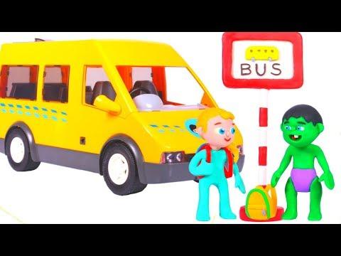 SUPERHERO BABIES GO TO SCHOOL 鉂� SUPERHERO CARTOONS FOR KIDS