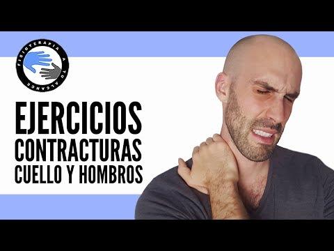 Ejercicios para las contracturas o nudos de cuello, trapecios y hombros