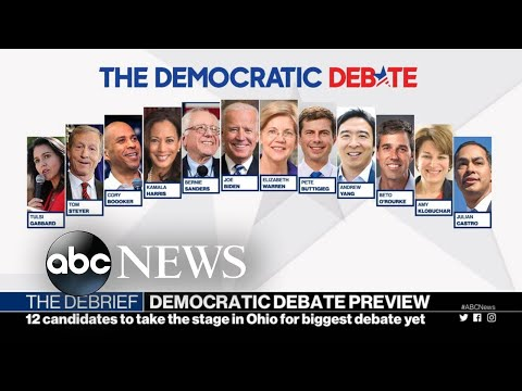 A look at the 4th Democratic presidential debate l ABC News