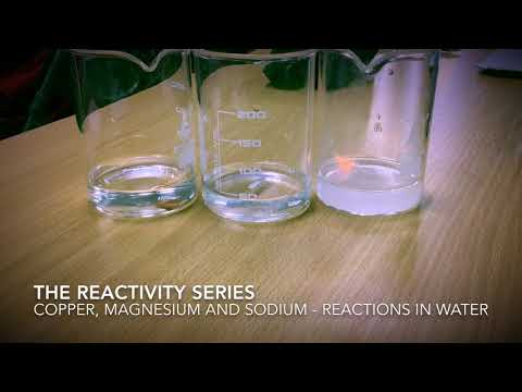 The Reactivity Series - Copper, Magnesium And Sodium