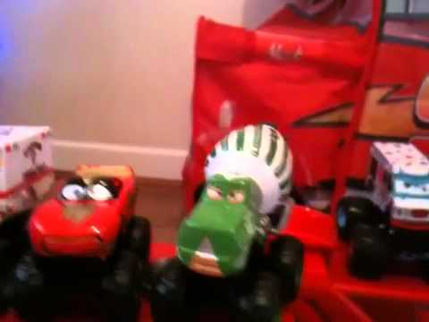 Cars Collection Frightening Mcmean And Monster Truck Wrassler