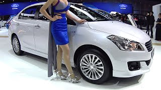 All new 2016, 2017 Suzuki Ciaz RS 1.25L DOHC gasoline engine, 20.7 km/L, 91 hp