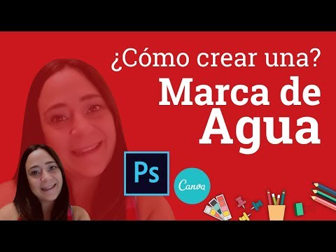 Como Poner Tu Logo Como Marca De Agua En Photoshop | ¡También Con Canva! 😁