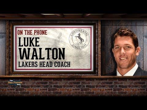 Lakers Head Coach Luke Walton Dials into The Dan Patrick Show | Full Interview | 3/2/18