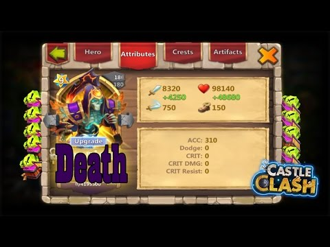 Fear Death For It Has Been Double Evolved!!! -CASTLE CLASH