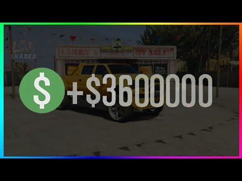 EASY 2 STEP SOLO GTA 5 MONEY GLITCH.. (unlimited money)