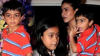 Meet Kajol And Ajay Devgn