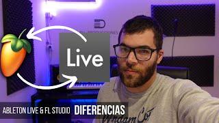 Entender Ableton Live Si Usas Fl Studio y Viceversa - DIFERENCIAS