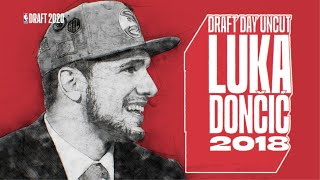 🍿 DRAFT DAY UNCUT   LUKA DONČIĆ - Extended behind the scenes coverage of Luka's draft experience