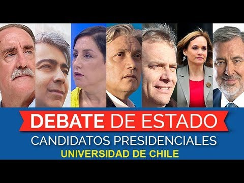 Debate Presidencial en la Universidad de Chile (03/10/2017)