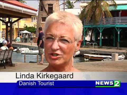 First Danish Charter Arrives In V.I.