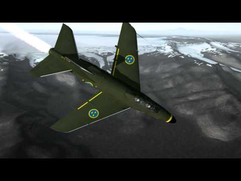 Dogfight: Saab J 32B Lansen vs Hawker Hunter