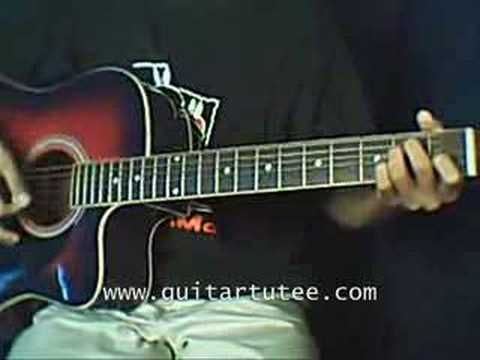 Stolen Of Dashboard Confessional Guitartutee Youtube