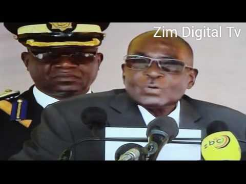 President Robert Mugabe's full address at the burial of the late Brg-Gen Murozvi