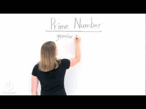 What's a Prime Number?