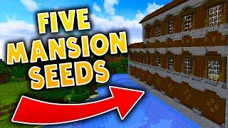 5 MINECRAFT MANSION SEEDS! - Minecraft 1.11.2 Seeds