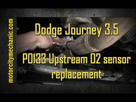 2009 Dodge Journey 3 5 Liter Engine Code P0133 Oxygen Sensor Youtube