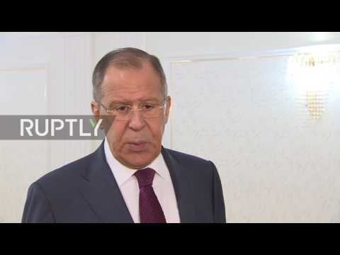 Belarus: 'Daylight robbery' - Lavrov on potential US conditions for return of Russian property