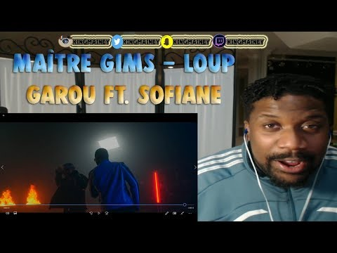 (FRENCH)Maître Gims - Loup Garou ft. Sofiane (Clip Officiel) REACTION!!