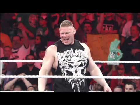 A special look at the rivalry between John Cena and Brock Lesnar: Raw, Aug. 4, 2014