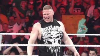 A special look at the rivalry between John Cena and Brock Lesnar: Raw, Aug. 4, 2014 thumbnail