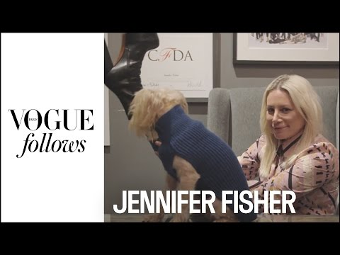 Portrait Of A Real New Yorker: Jennifer Fisher  |  #VogueFollows  |  VOGUE PARIS