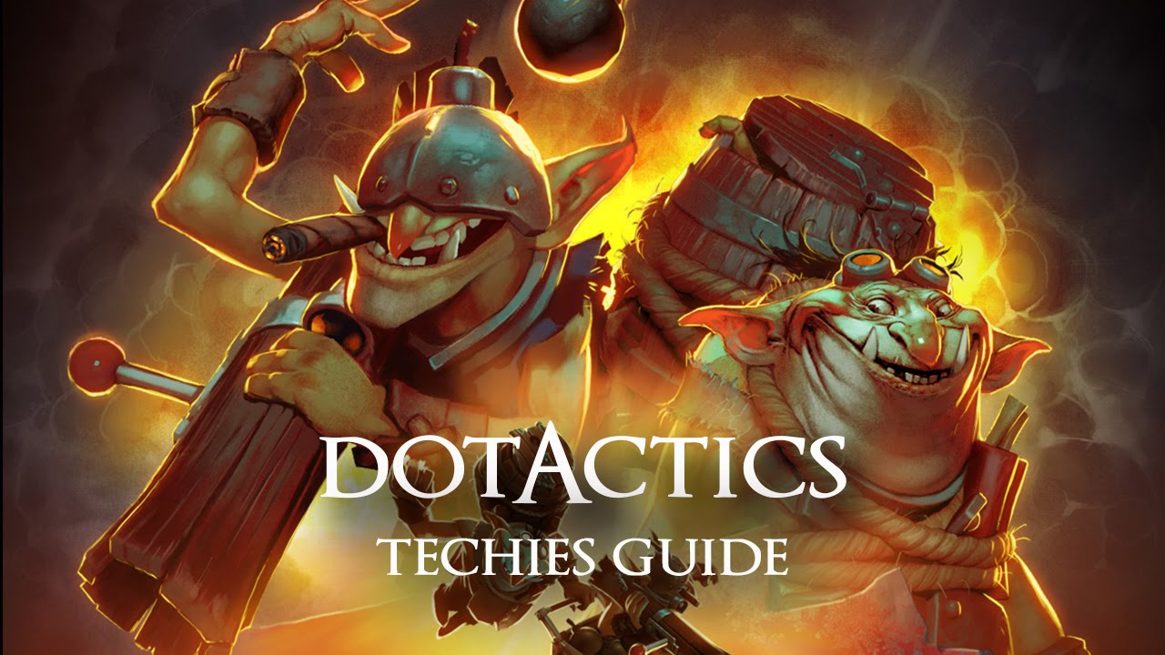 Techies Dota  Build