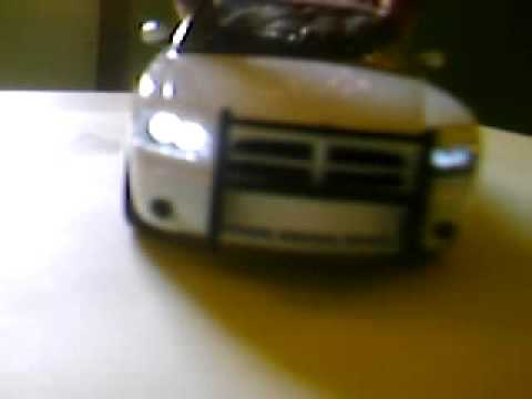 Wig Wag Headlight Circuit in Diecast Dodge Charger