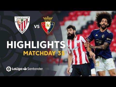 Ath. Bilbao Osasuna Goals And Highlights