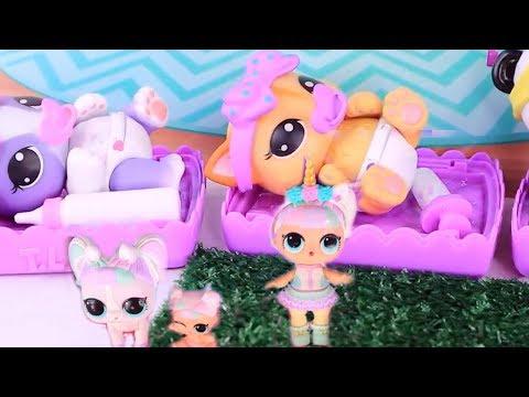 Куклы Лол Сюрприз! Необычные Питомцы для Lol Surprise Families Мультик для детей