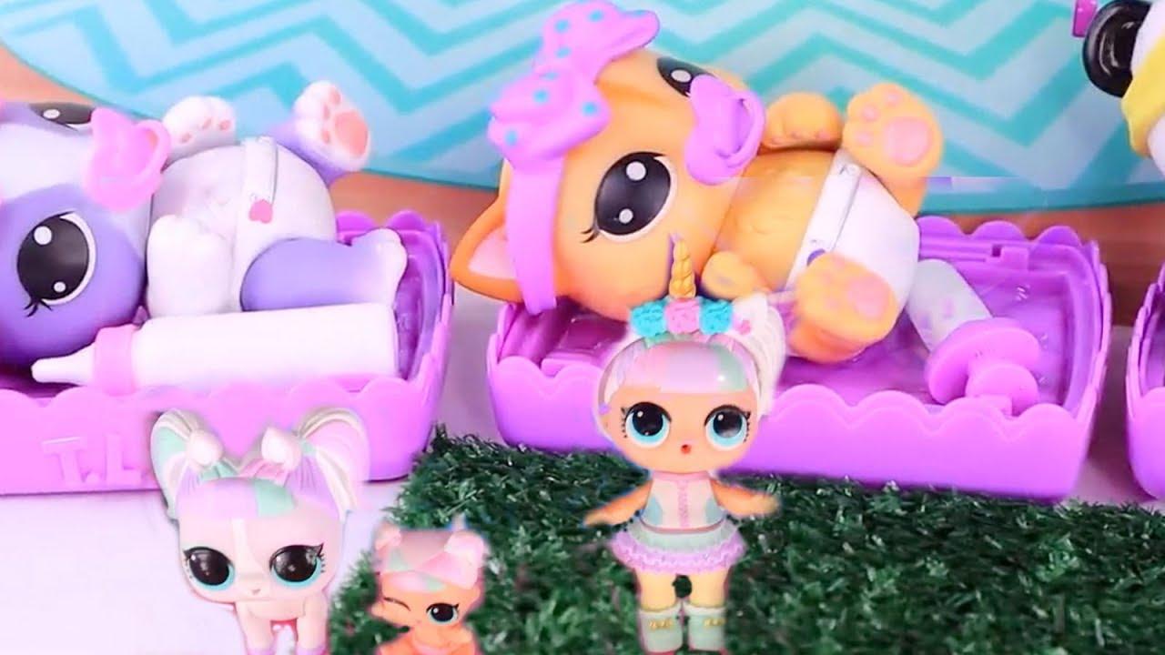 Куклы Лол Сюрприз! Необычные Питомцы для Lol Surprise ...