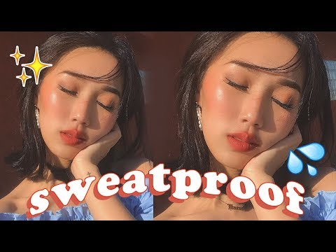 SWEATPROOF NATURAL MAKEUP ROUTINE   Summer + Vacation Ready!