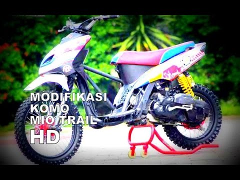 modifikasi mio trail 2016 terkeren